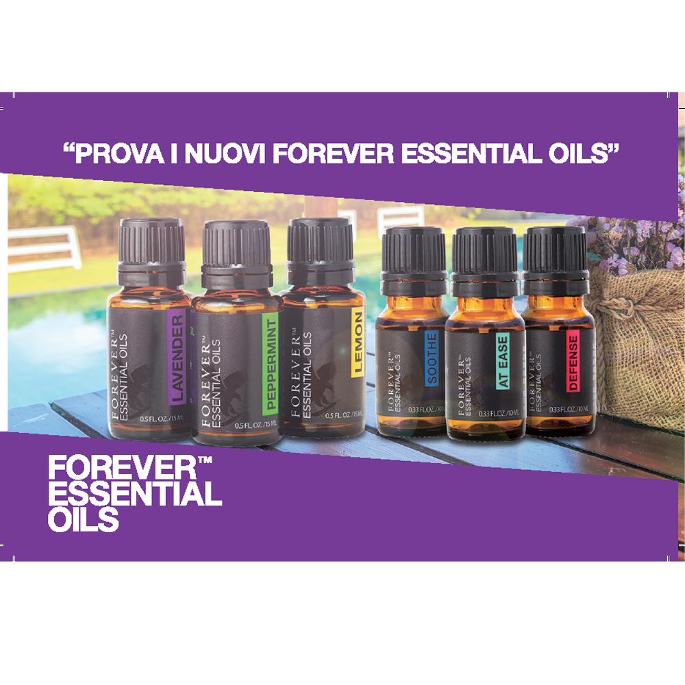 INVITO FOREVER ESSENTIAL OILS (50 pz)