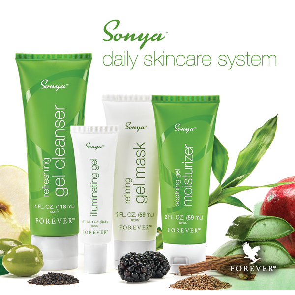 Depliant Sonya Daily Skincare System