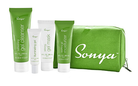 Prodotti Sonya Daily Skincare System Forever