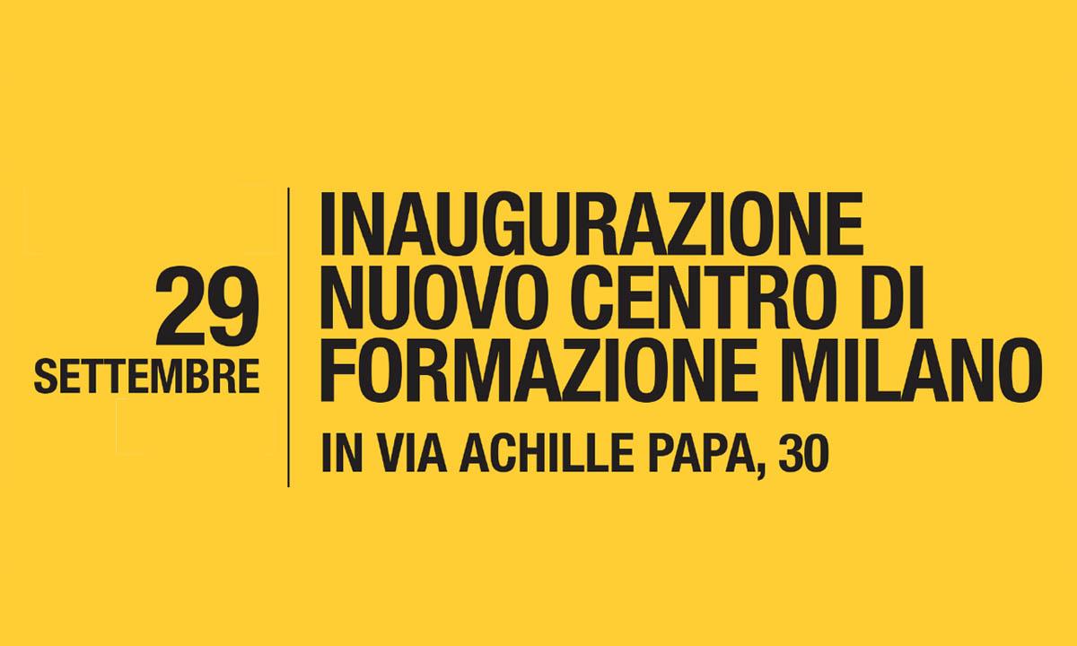 Inaugurazione nuovo centro Milano