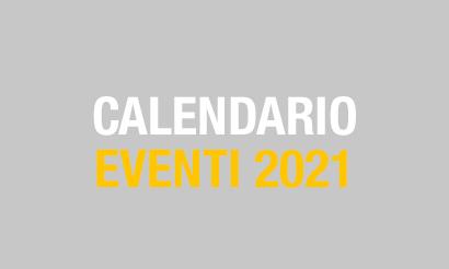 Calendario eventi  2021