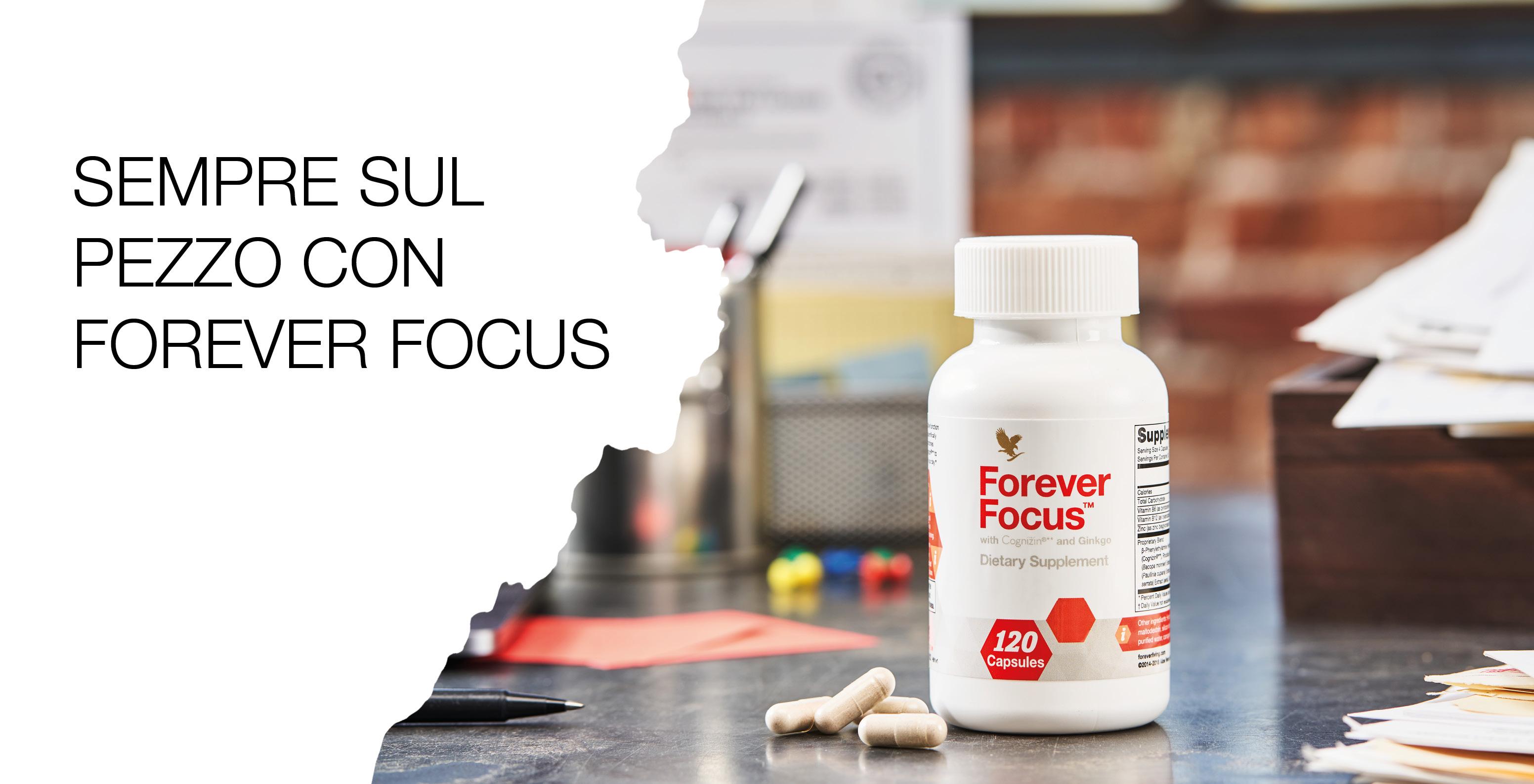Lucidità e concentrazione con Forever Focus