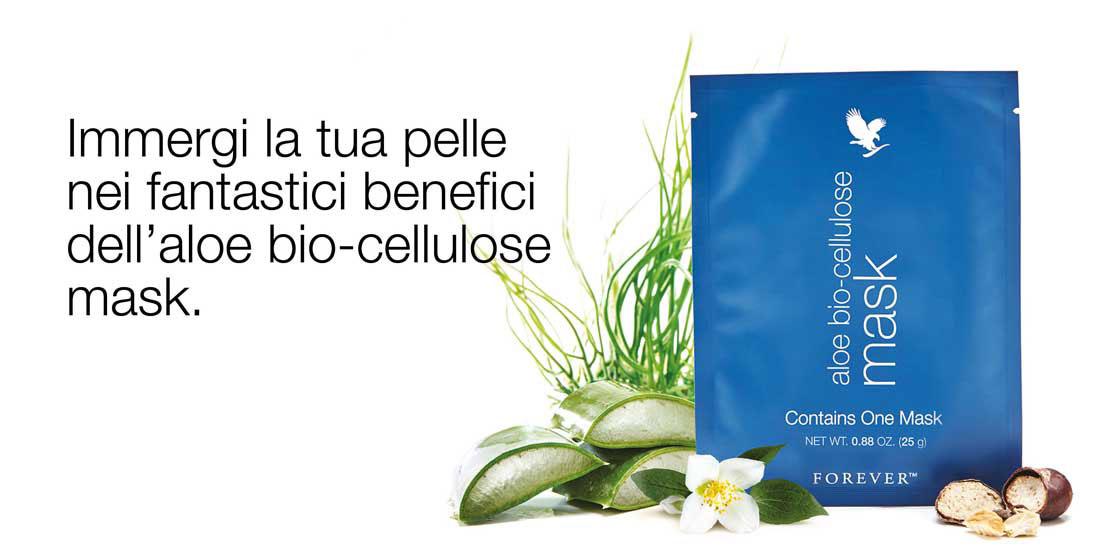 Bio-Cellulose Mask per la tua pelle